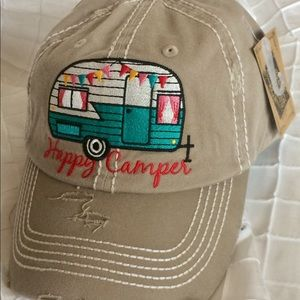 Accessories - NWT Happy Camper Hat